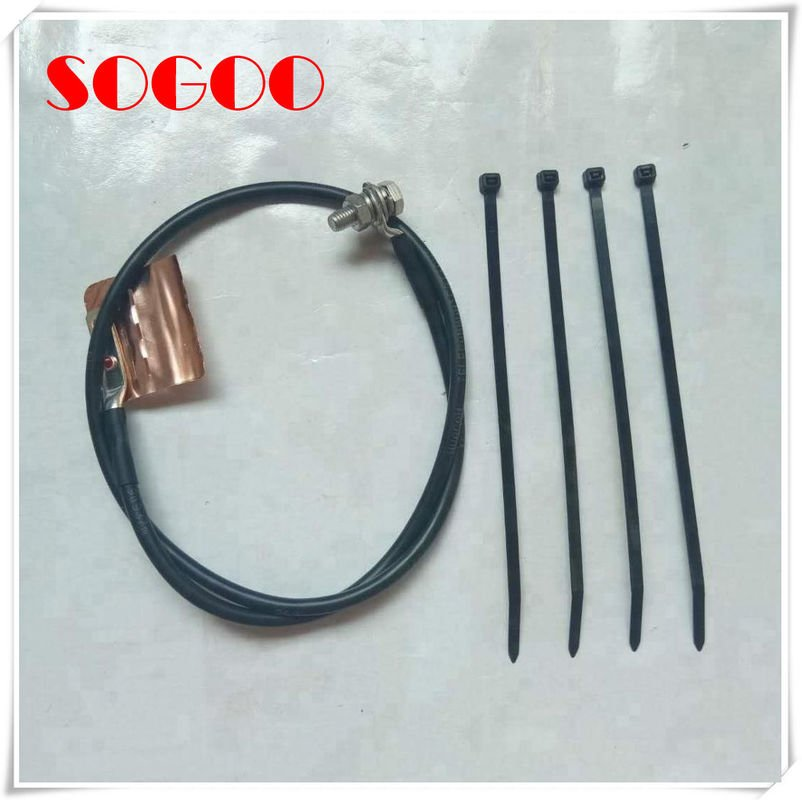 pl25851269 0 8 1m length universal grounding kit fiber cable grounding kit framework type - Copper Banded Grounding Kit 0.5- 1m Cable Earth Kit